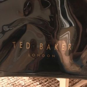 Ted Baker Bags - Ted Baker patent black tote bag